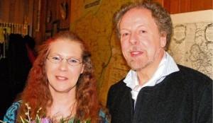 Dr. Katrin Schäfer u. Wolfgang Jansen, Foto: W. Schmidt /Husumer Nachrichten