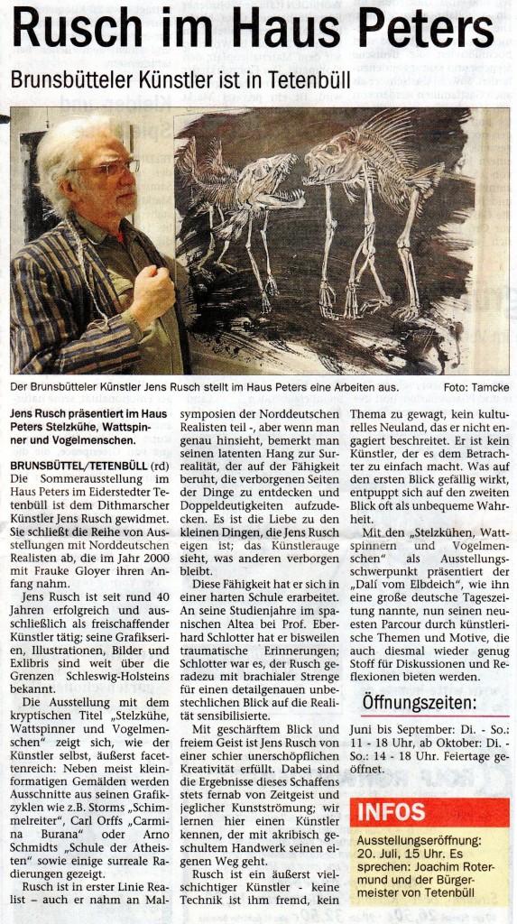 Anzeiger, Dithmarschen, vom 10.7.2013