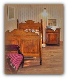 Schlafzimmer der Luise Peters