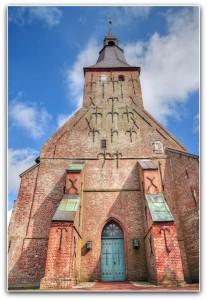 Kirche St. Annen, Tetenbüll, Portal
