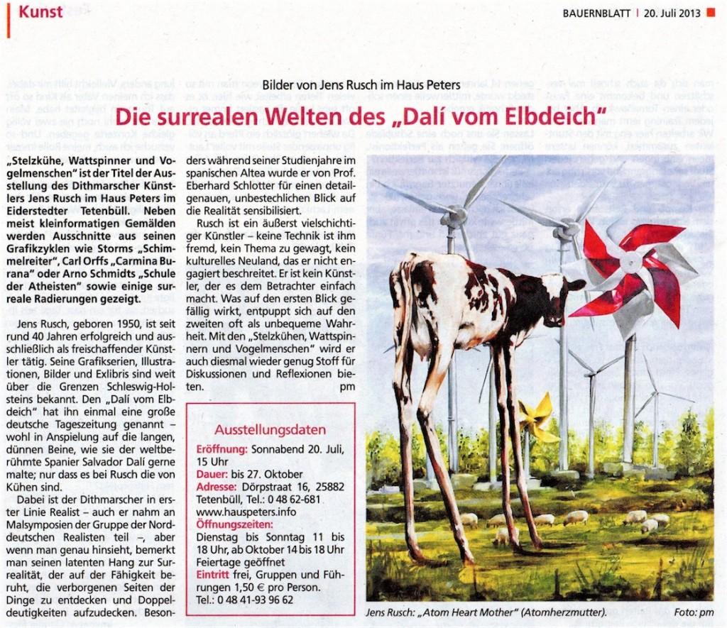 Bauernblatt 20. Juli 2013