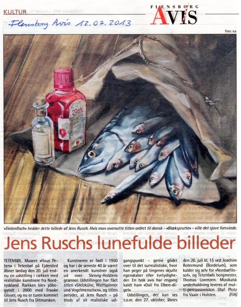 Flensborg Avis, jens Rusch, 12.7.2013