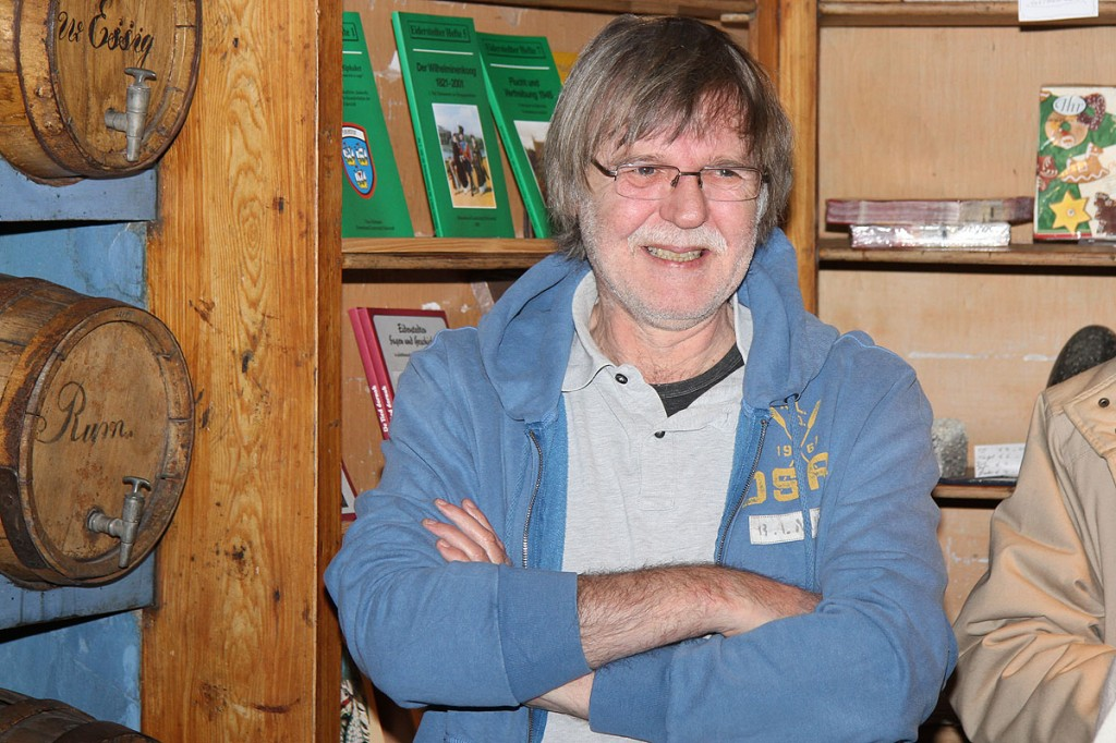 Wolfgang Claussen: Ausstellung Haus Peters, der Künstler Ulf Petermann