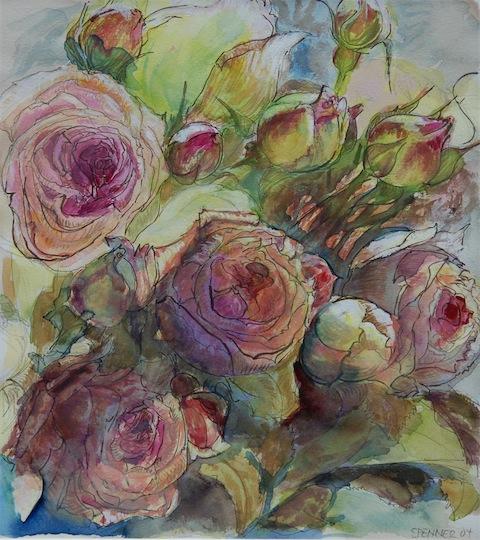 Rosen von Ursula Schultz-Spenner