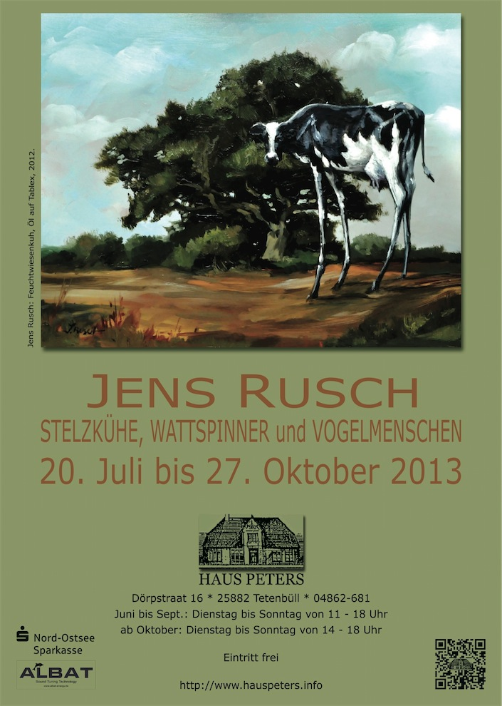 Jens Rusch Plakat Haus Peters