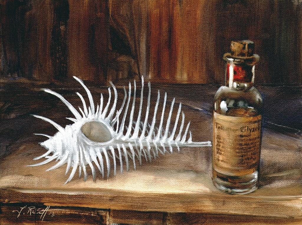 Venusmuschel und Glycerin von Jens Rusch