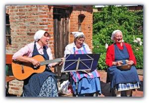 Landfrauen Eiderstedt Trio Gesang Küchenlieder